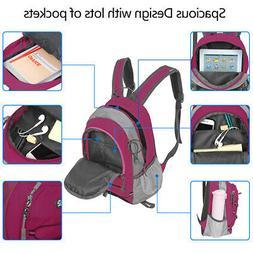 1 PC Waterproof Nylon Mini Sport Backpack Shopping Storage B