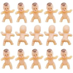 """120 PC 1"""" Mini Plastic Babies TINY Baby Doll For Party Favor"""