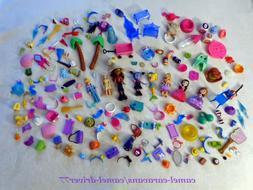 169pc Mini DOLLS Plastic Accessories DISNEY JR Just Play Pri