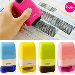 1PC Mini Guard Your ID SelfInking Stamp Messy Code Security