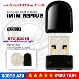 2TB 512GB Mini USB Flash Drive Pen Drive Thumb U Disk Memory