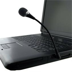 3.5mm Flexible Mini Microphone MIC for PC Laptop/Notebook Co