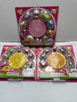 3 Pc Set Mini LALALOOPSY TINIES Dolls Series 5 Blossom's,