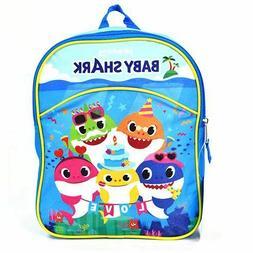 "5 Baby Shark 11"" Mini Backpack- 1 pc"