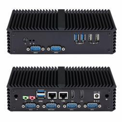 6 RS232/RS485 Industrial Pos Mini PC,Core I3 5005U/ I5 5200U