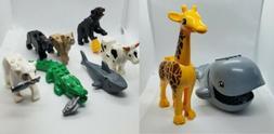 8pc/Lot Animals Mini Figures For Lego