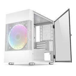 Mini-ITX / Micro-ATX DLM21 Gaming PC Desktop Computer Case G