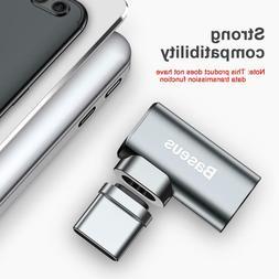 Baseus Mini USB-C Type-C Fast Charging Magnetic Elbow Adapte