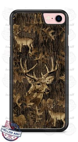 Deer Hunting Camouflage Design Phone Case for iPhone Samsung