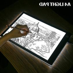 A4 USB LED Tracing Artist Tattoo Stencil Board Light Box Dra