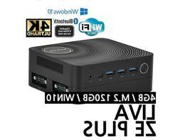 ECS Mini PC LIVA ZE PLUS Win10 i3-7100U 2.4GHz DDR4 4GB/128G