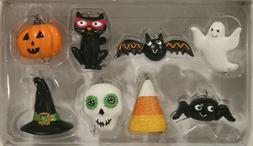 Midnight Market- Halloween Mini  pc Ornament Set -NIB/SPIDER