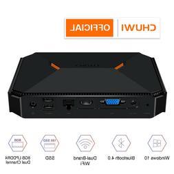 CHUWI HeroBox Fanless Mini PC Intel Linux/Win10  Desktop 8+2