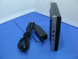 HP ProDesk 600 G4 DM Mini Desktop PC i5-8600T 2.3GHz 8GB 256