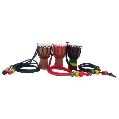 1pc ethnic features mini djembe pendant necklace