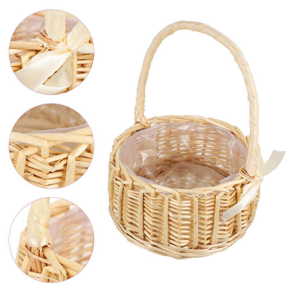 1pc Storage Basket Portable Basket Mini Flower Basket for We