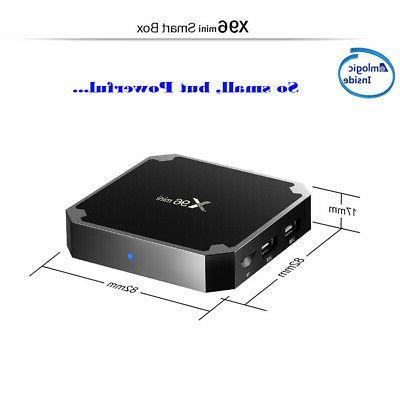X96MINI Android 9.0 TV BOX Core 4K Media MINI