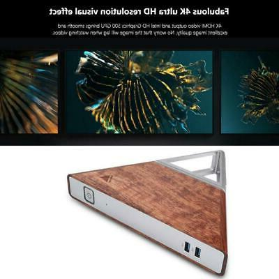 AA-B4 4K Mini PC 8G+192G Core WiFi BT4.0 For Win10 64bit