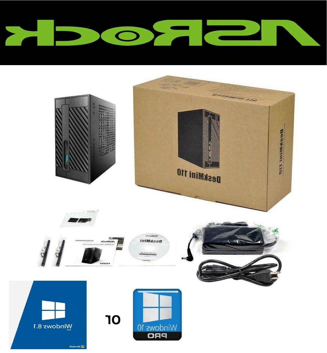 deskmini 110w mini pc core i7 6700