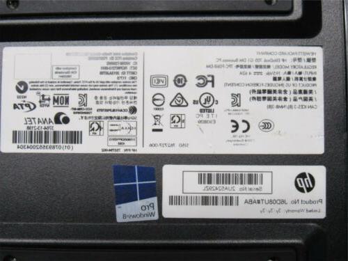 HP G1 Mini PC Pro-7600B 4GB RAM