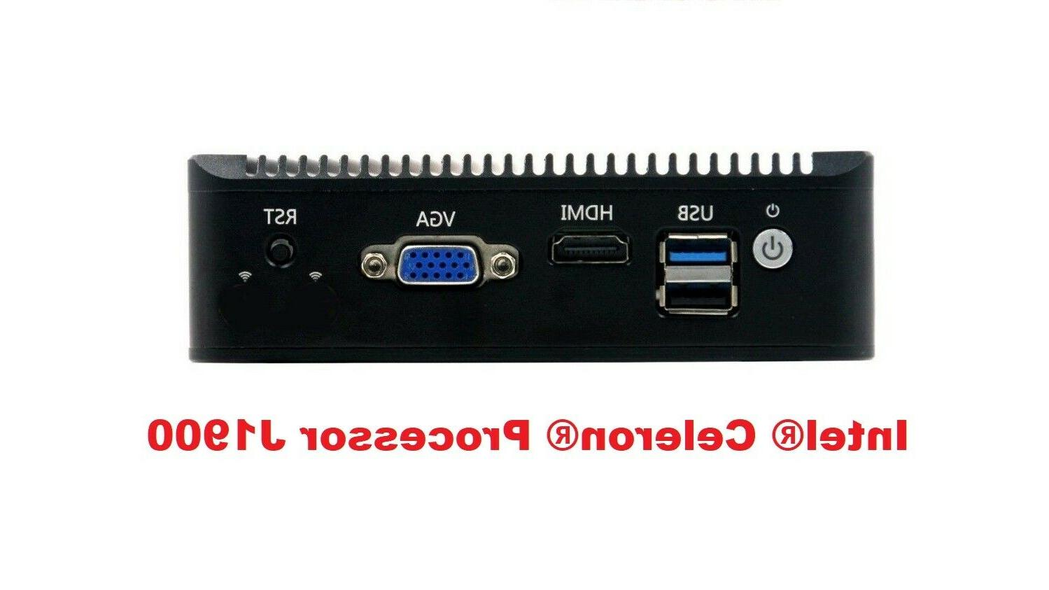 Fanless J1900 4 Port 0G pfSense Firewall