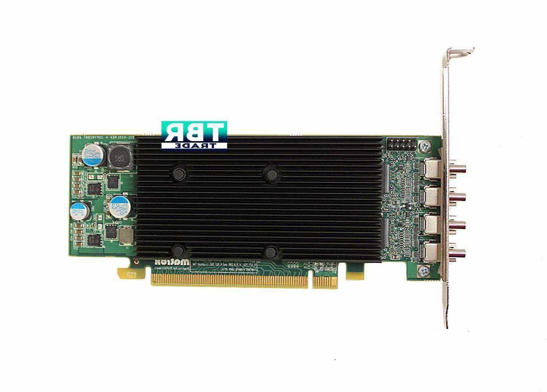 Matrox 1GB Quad mini