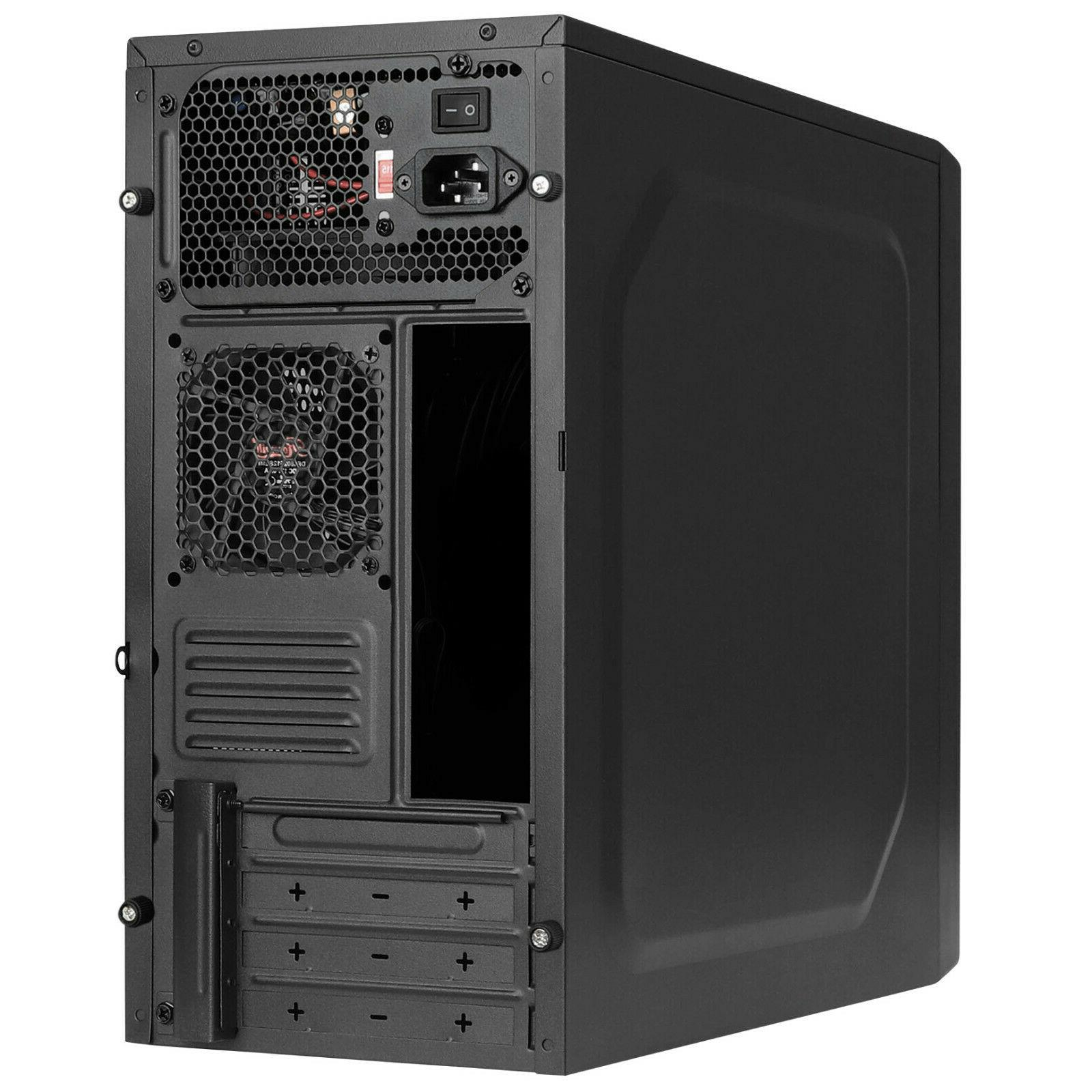 Rosewill Case Desktop PC with 450W USB