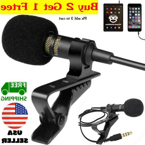 mini lavalier mic microphone for cell phone