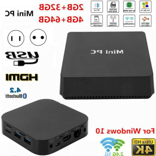 mini pc computer for intel z8350 lpddr3
