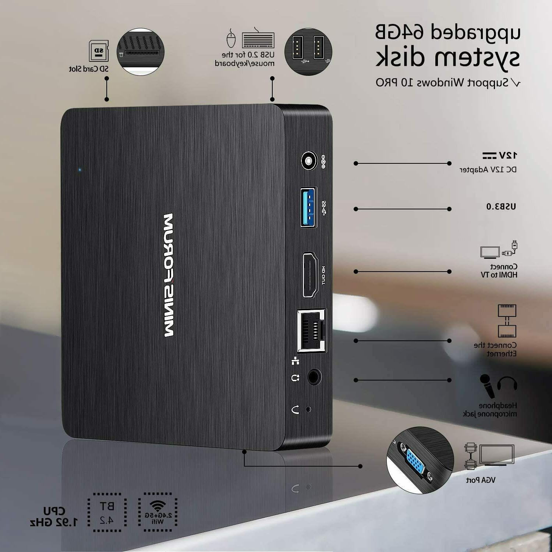 Mini Quad-Core Fanless HD Atom