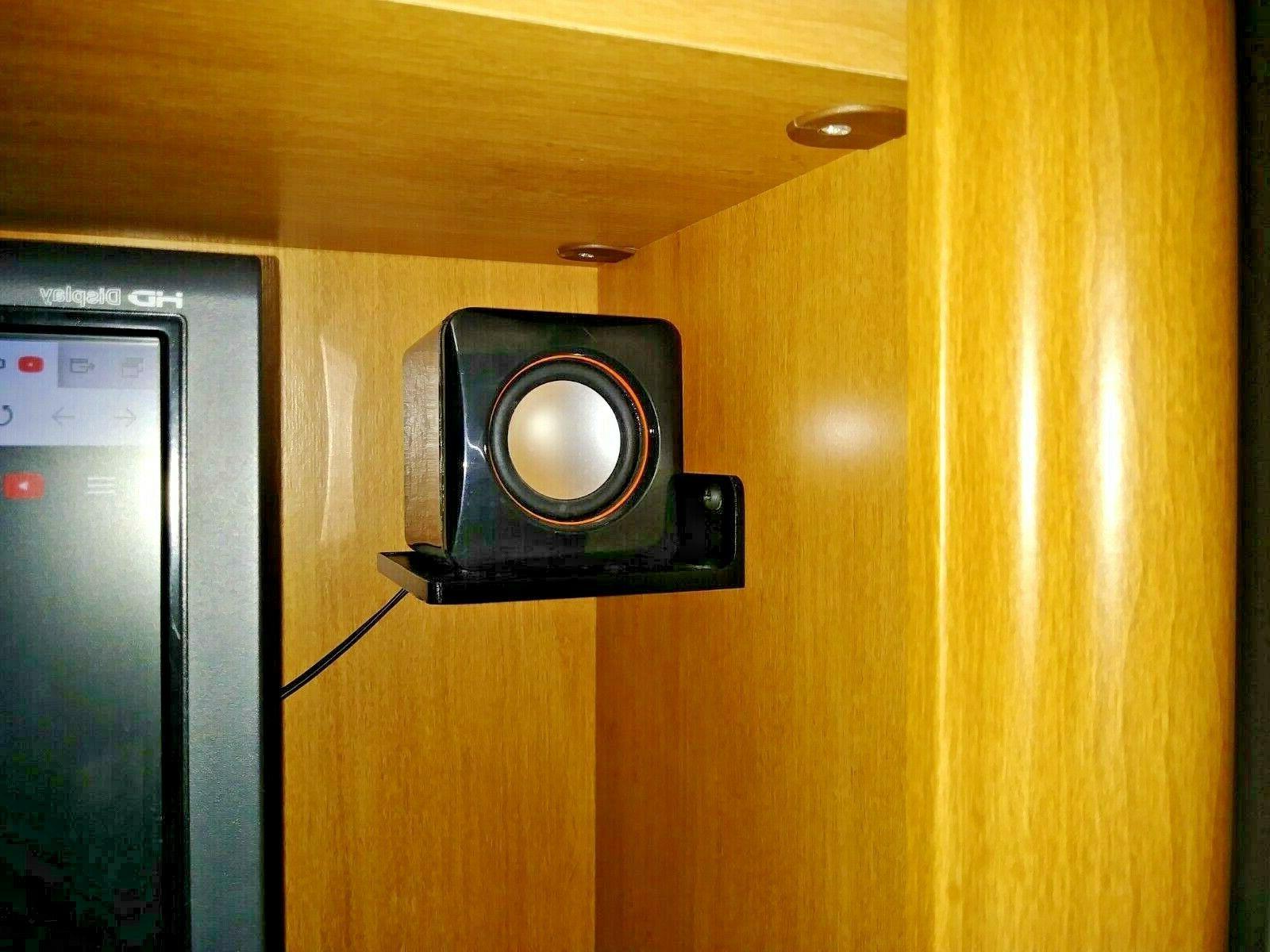 Mini Shelves for PC Speakers - 2pcs