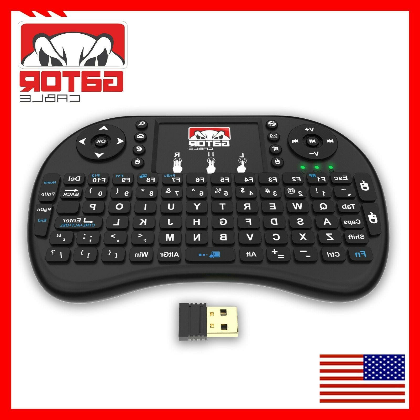 Mini Keyboard Control TV Android Box PC