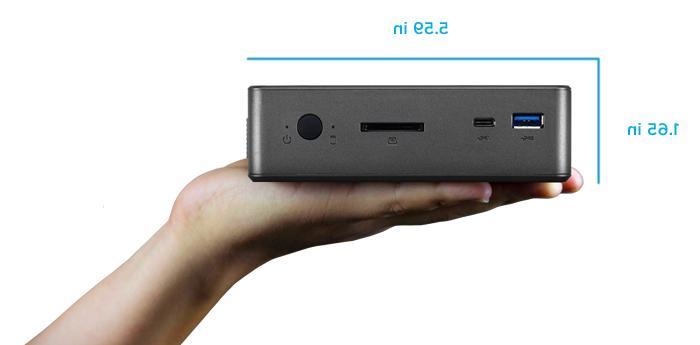 Shuttle Nano Intel 4K Dual-Channel LAN USSF