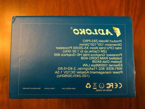 ADLOKO PC x5-Z8350 Processor SHIPPING!!!