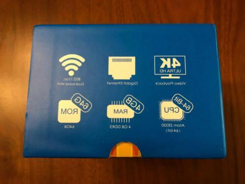 ADLOKO PC Windows 10, x5-Z8350 Processor FREE