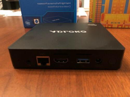 ADLOKO Z83-Pro PC Windows x5-Z8350 Processor SHIPPING!!!