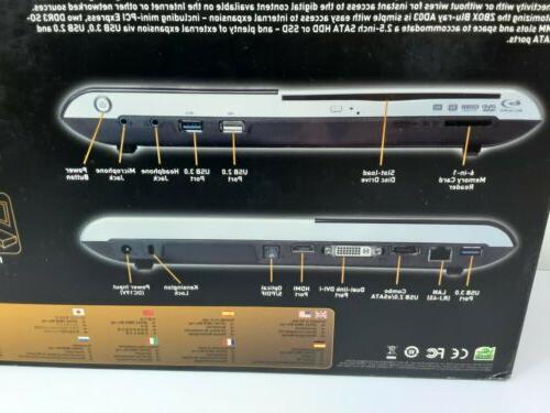 NEW ZOTAC ZBOX-AD03BR-U PC AMD E-350 GHz Up RAM