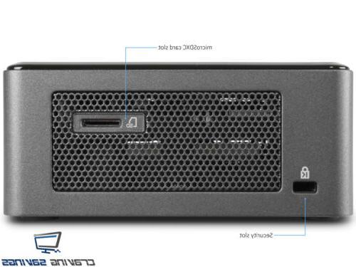 Intel PC, Core i3-8109U, 512GB NVMe Pro