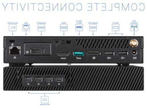 ASUS PB60G, i5-8400T, RAM, Quadro P620, Windows Pro