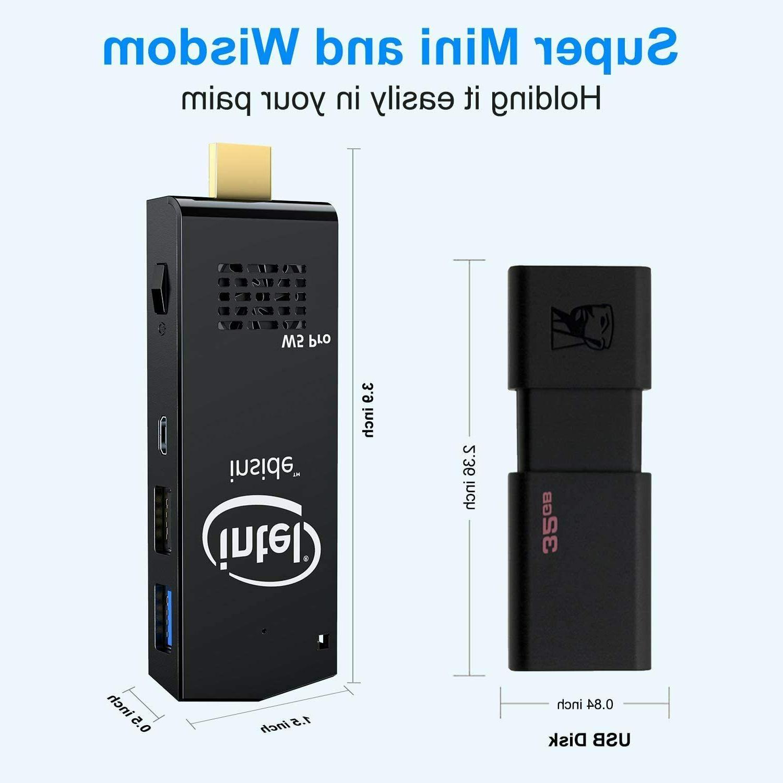 W5 Pro Intel Atom Windows 10 Computer DDR3 64GB eMMC Sup