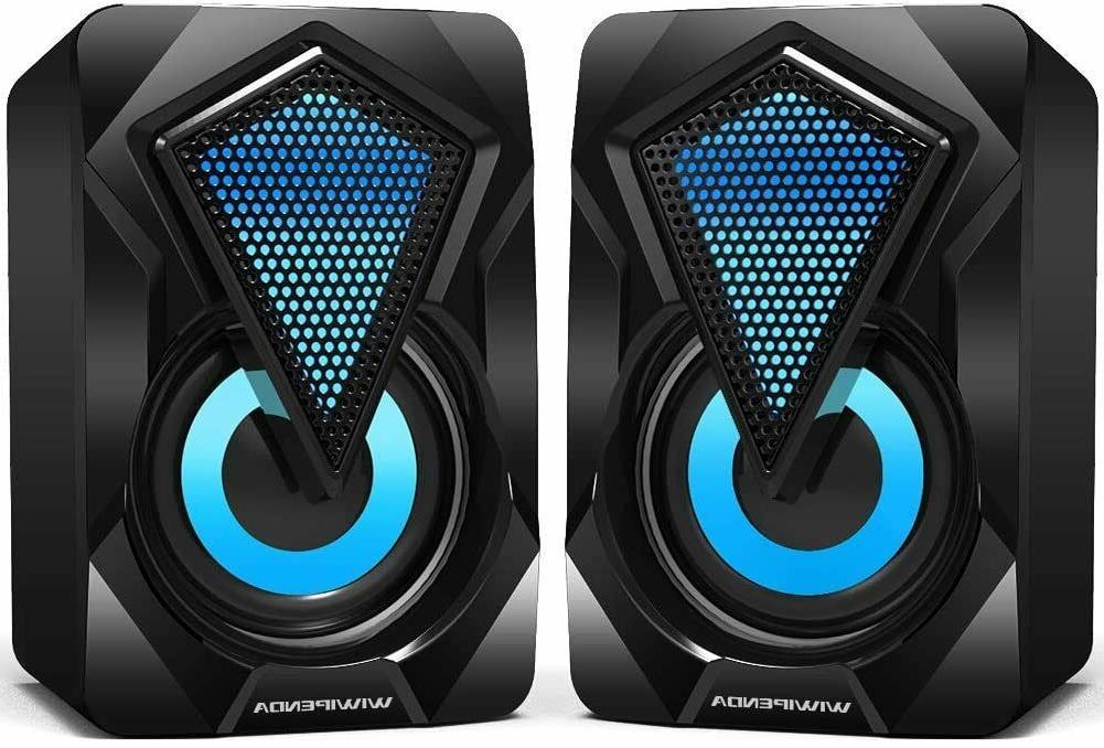 portable mini computer speakers 2 0 usb