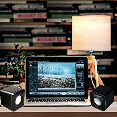 USB 3.5mm Speaker Subwoofer PC Desktop