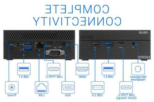 ASUS VivoMini i3-8130U, 32GB 2TB +1TB HDD, Windows Pro