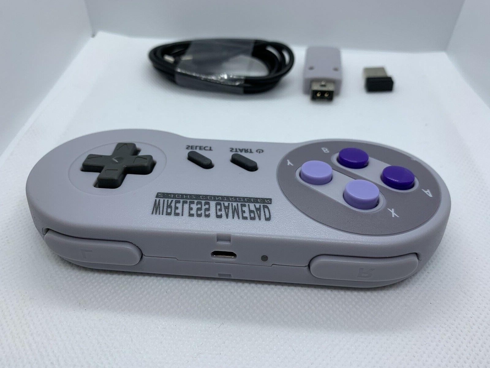 Wireless SNES NES Mini Classic Controller Control