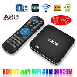 MECOOL M8S PRO Plus Android 7.1 TV Box UHD 4K HD H.265 VP9 H