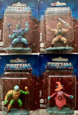 Mattel Masters of the Universe Mini Figures miniature NEW 4