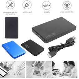 Mini 3.5/2.5'' USB 2.0/3.0 to SATA Port External SSD Hard Dr