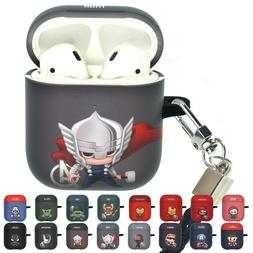 Marvel Mini Avengers AirPods Case with Neck Lanyard Hard PC