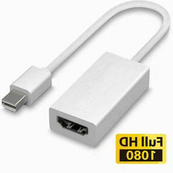 Mini Display Port DP Thunderbolt to HDMI Adapter Cable For L