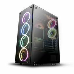 mini itx mid tower phantom desktop gaming